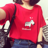 Ordinary Confused Horse Women Tee