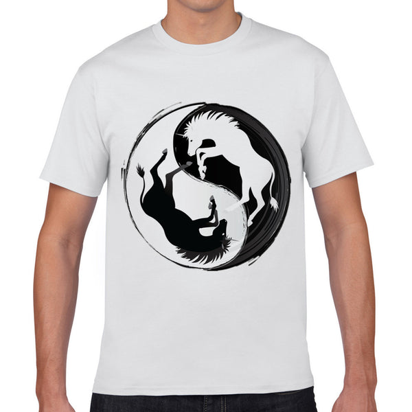 A Horse Ying and Yang Tee