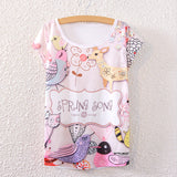 Flying Unicorn Loose Sleeve Women Tee