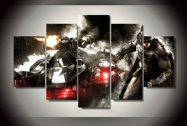 Batman Arkham Knight 5 Piece Art Canvas