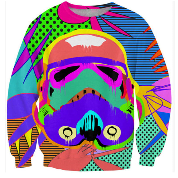 Colorful Star Wars Crewneck