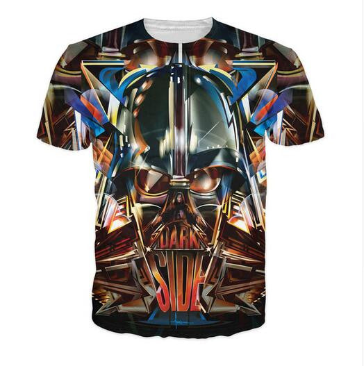 Dark Side T-Shirt the infamous Darth Vader Star Wars Tee
