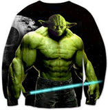 Buff Yoda Sweatshirt