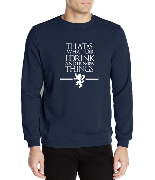 Game of Thrones I Know Things Sweatshirt