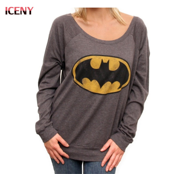 Womens Batman Long Sleeve Shirt
