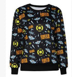 Cartoon Emoji Crewneck