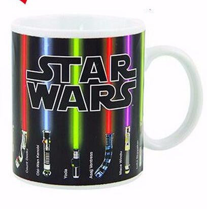 Mug Star Wars Lightsaber Heat Sensitive Color Changing  Mugs
