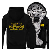 Star Wars Cosplay Zipper Hoodie