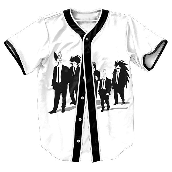 DBZ Reservoir Dogs Baseball Tee