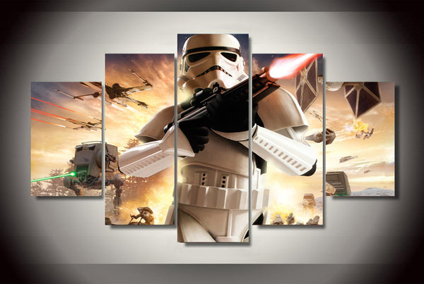 Star Wars Storm Trooper Canvas