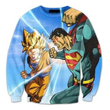 Goku vs Superman Crewneck