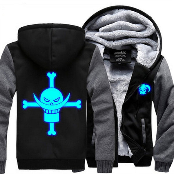A One Piece Glow In The Dark Jacket