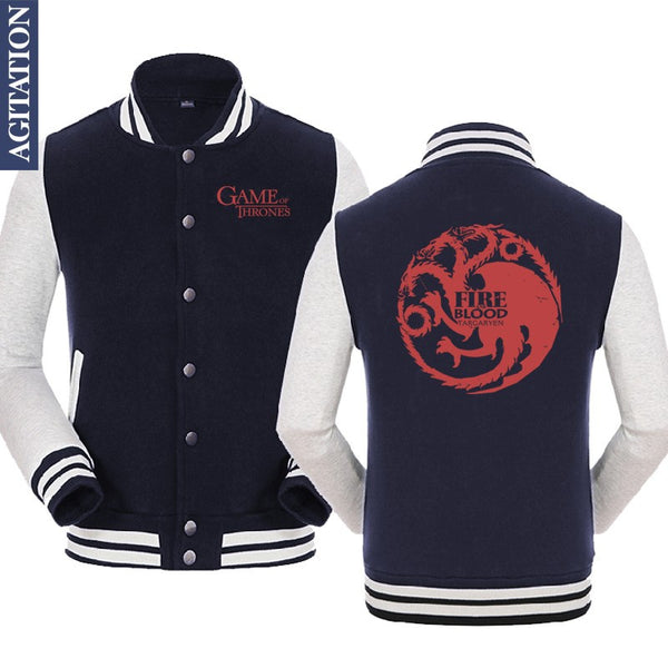 A Game of Thrones Varsity Jackets