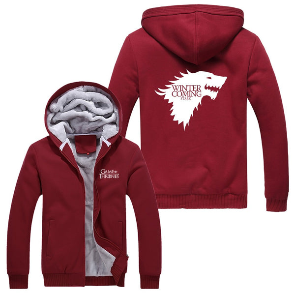 A Red Winter is COming Hoodie