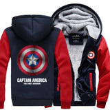 2016 New Captain America  Winter Jackets