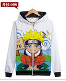 A Naruto Jackets (Multiple Character Hoodies)