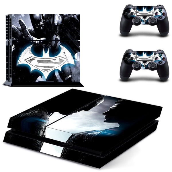 Batman vs. Superman  PS4 Skin Stickers