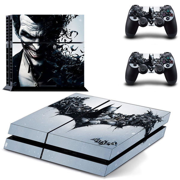 BATMAN Joker PS4 Skin Sticker 2Pcs controller Sticker