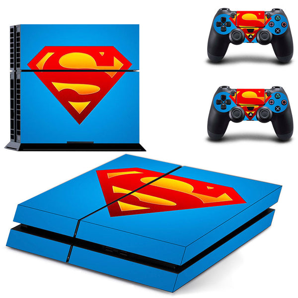 Superman Logo Cover For PS4 Skin
