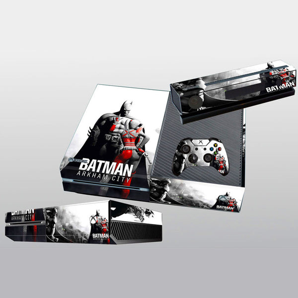Batman Arkham City Vinyl Cover Skin Sticker For Xbox one & Kinect & 2 controller skins