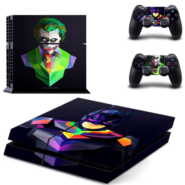 The Joker Batman vinyl Skin sticker PS4