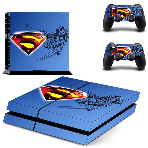 Superman VS Batman Decal Skin Cover For Playstaion 4 Console
