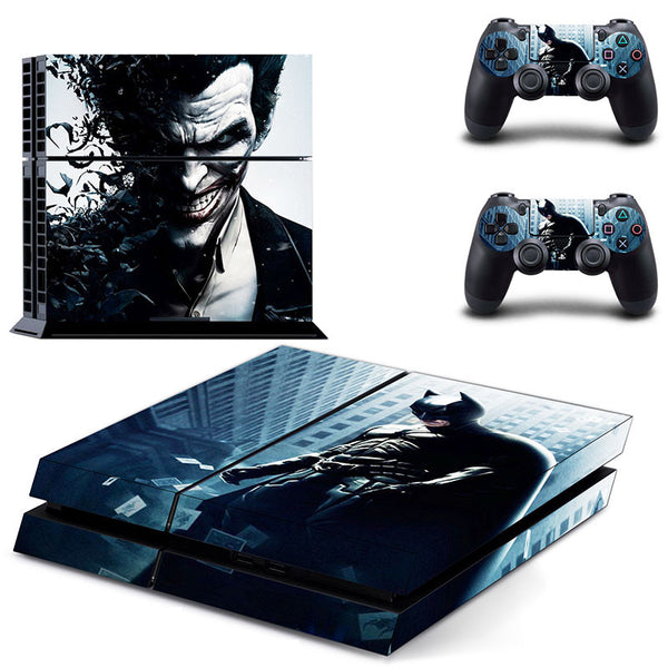 Batman Joker Decal Skin Ps4 console Cover For Playstaion 4