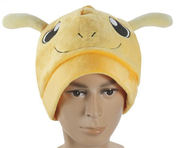 Cartoon Pokemon  Dragonite Soft Plush Hat