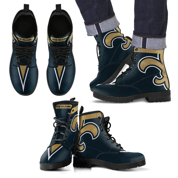 New Orleans Leather Boots