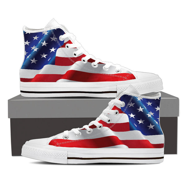 American Flag Premium Men High Top