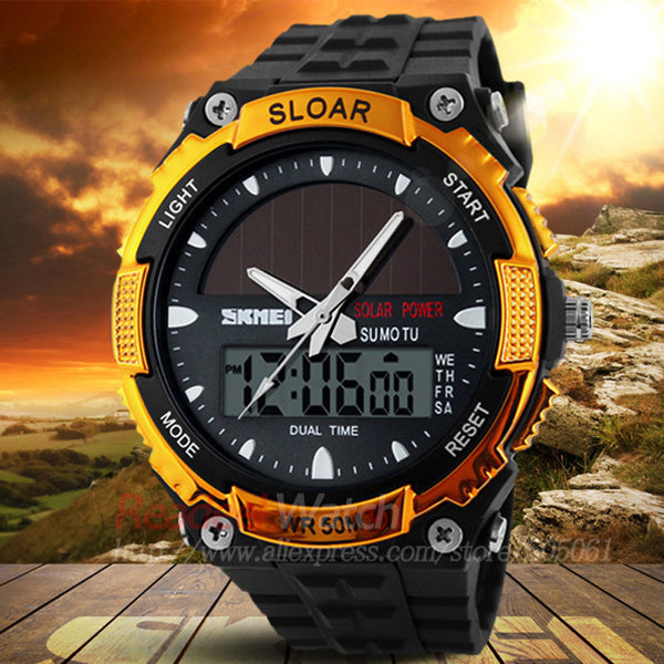 SOLAR POWER LED Watch