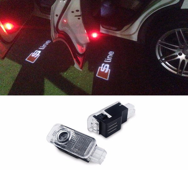 LED Door Projector  For Audi