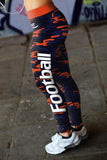 Chicago Football Camo Leggings