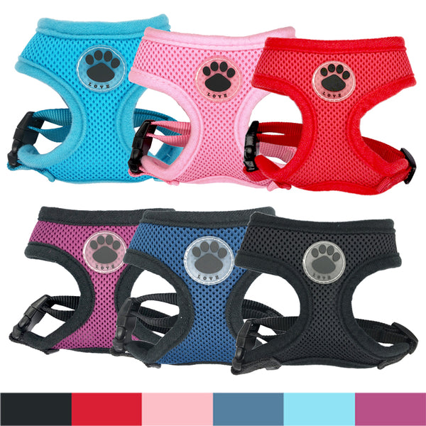 """LOVE"" Paw Breathable Harness"