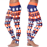 Denver Ugly Christmas Classic Football Leggings