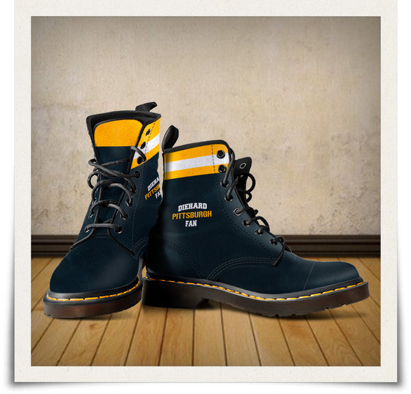 Pittsburgh Leather Boots