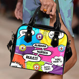 AL Comic Nurse Handbag