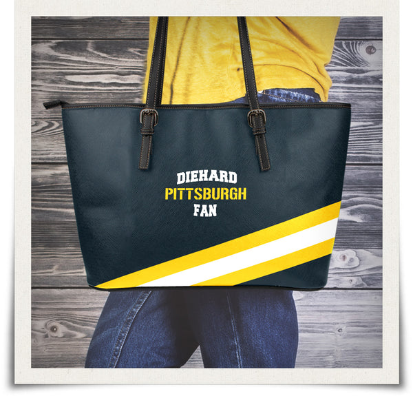 Pittsburgh Large Leather Tote Bag
