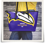 Baltimore Large Leather Tote Bag