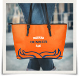 Denver Large Leather Tote Bag