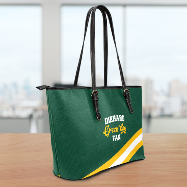 Green Bay Large Leather Tote Bag
