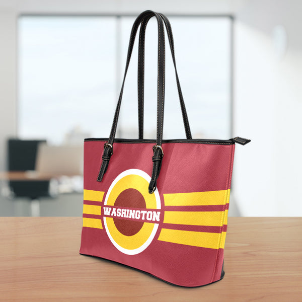 Washington Small Leather Tote Bag