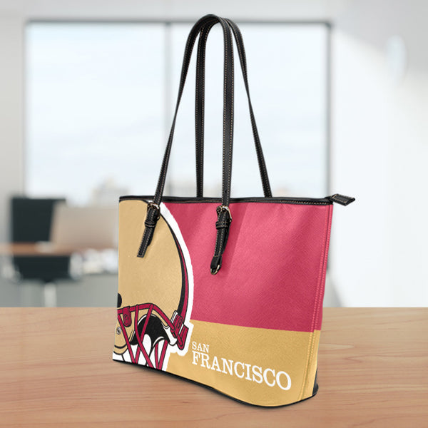 San Francisco Large Leather Tote Bag