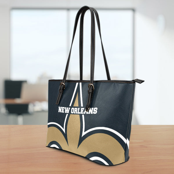 New Orleans Large Leather Tote Bag