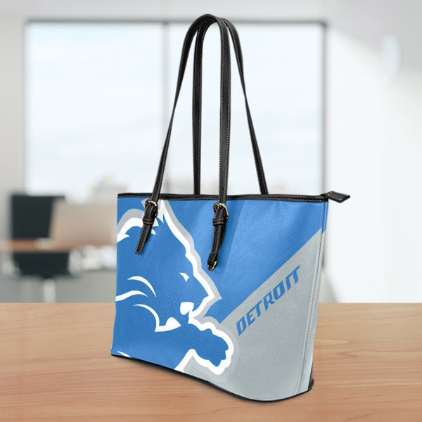 Detroit Large Leather Tote Bag