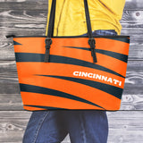 Cincinnati Small Leather Tote Bag