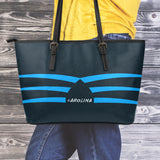 Carolina Small Leather Tote Bag