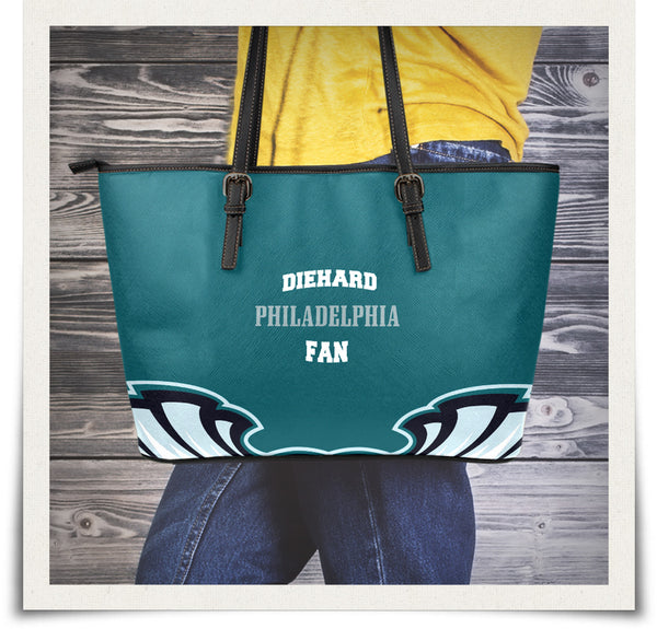 Philadelphia Small Leather Tote Bag