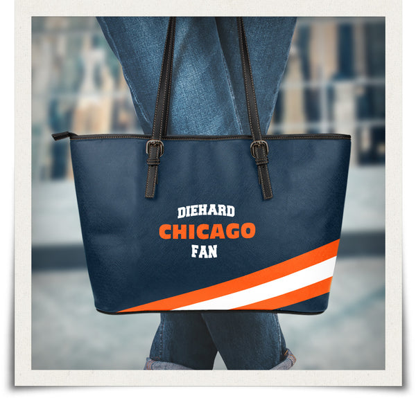 Chicago Small Leather Tote Bag