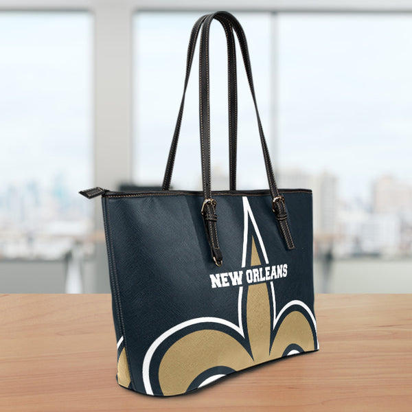 New Orleans Small Leather Tote Bag